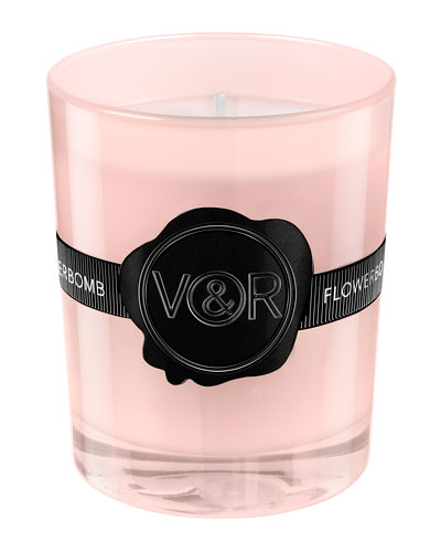 Viktor & Rolf Limited Edition Flowerbomb Scented Candle, .8 oz./ 165 g