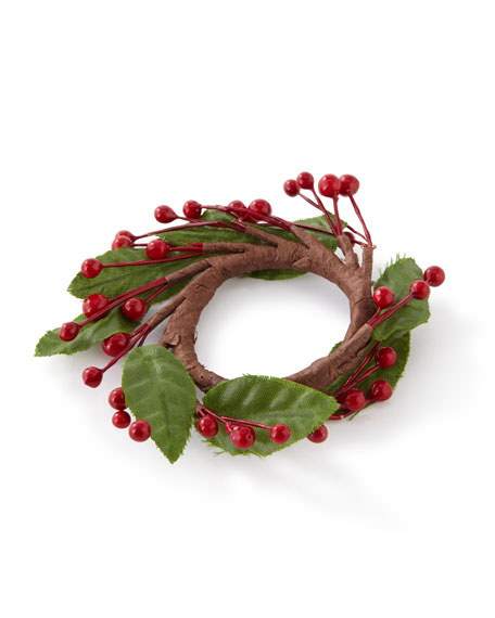C & F Enterprises Berry Napkin Rings, Set