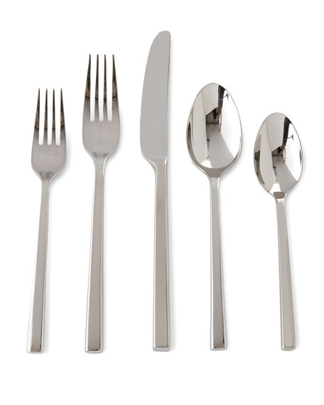 5-Piece Polished Flatware Place Setting