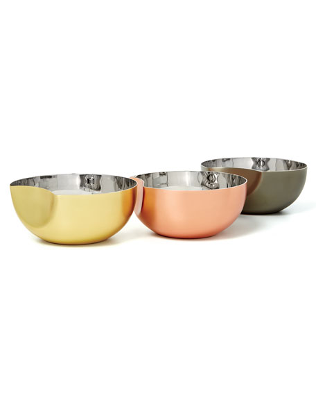 Large Arroyo Interlocking Bowls, Set of Three