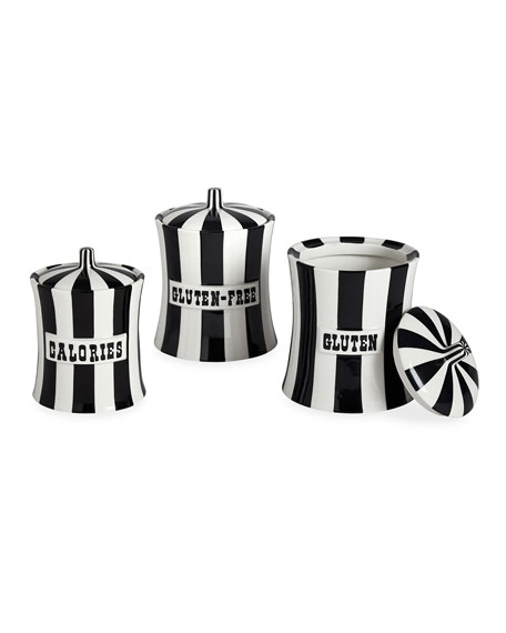 Jonathan Adler Gluten Vice Canister and Matching Items