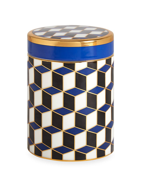 Versailles Carnaby Canister, Blue