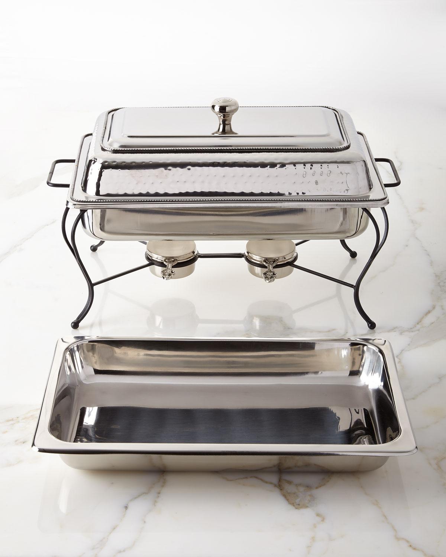 Star Home Designs8 Quart Rectangular Chafing Dish