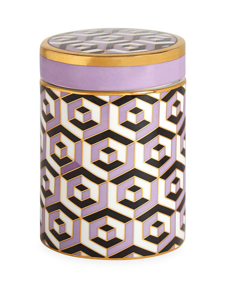 Jonathan Adler Versailles Carnaby Canister, Purple