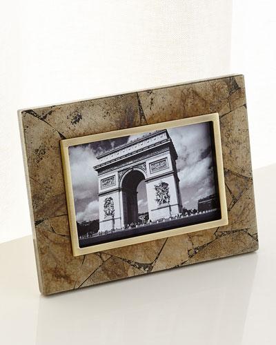Pyrite Stone Frame, 4x6