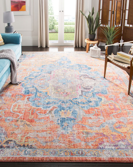 Rowan Power Loomed Rug, 9' x 12'