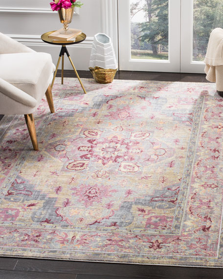 Baines Power-Loomed Rug, 4' x 5'9""
