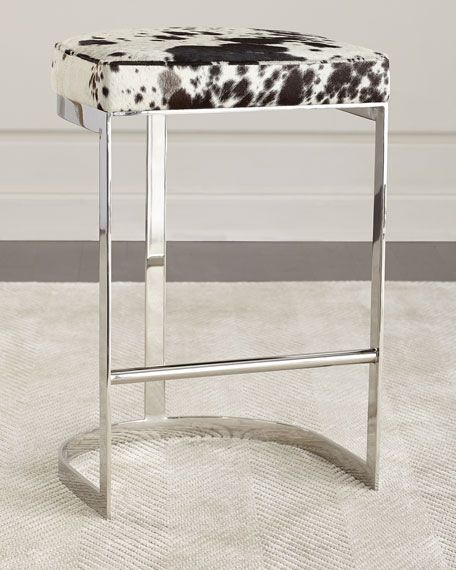 Arteriors Halli Hairhide Bar Stool and Matching Items