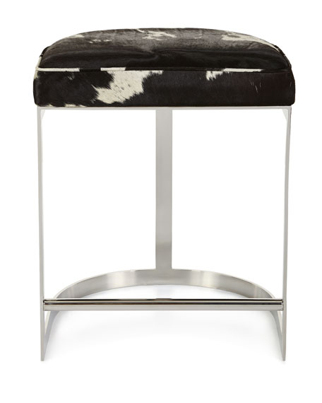 Halli Hairhide Counter Stool