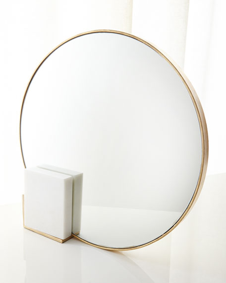 Arteriors Irene Table Mirror