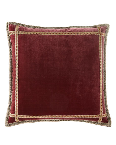 Sweet Dreams Anna Maria Velvet European Sham