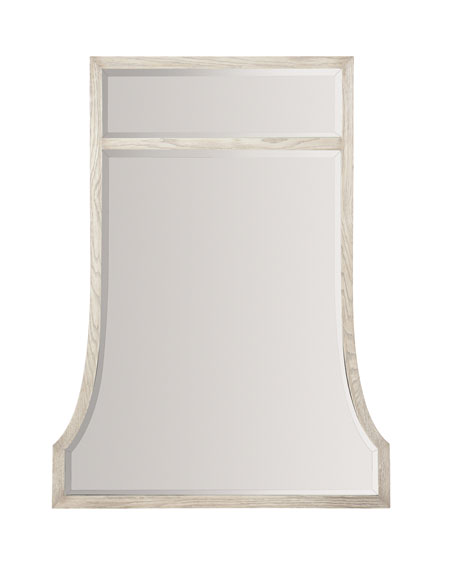Bernhardt Damonica Wood Framed Mirror