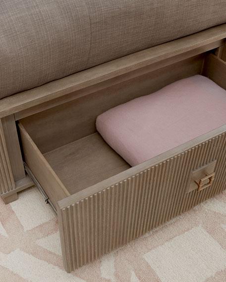 Ellisa King Storage Bed