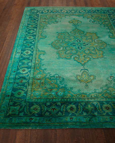 Lotus Hand-Tufted Wool Rug