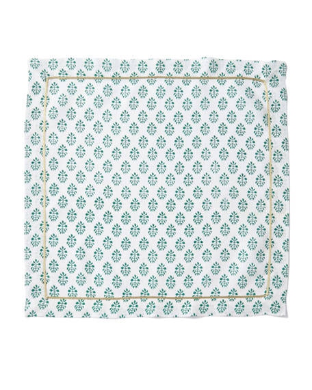 Joanna Buchanan Printed Leaf Dinner Napkins, Set of