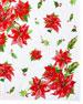 Poinsettia Breakfast Tablecloth