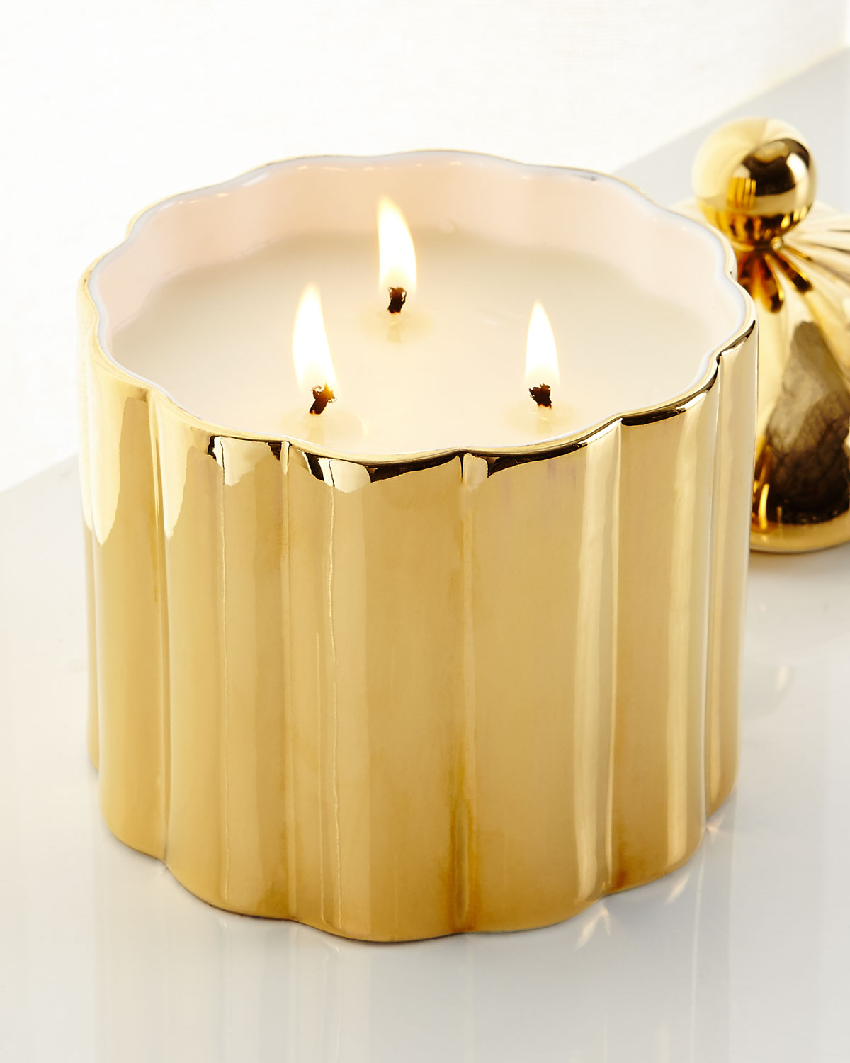 Gold Candle Decor | Neiman Marcus