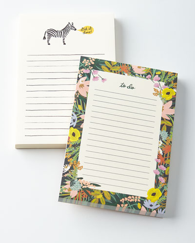 Get it Done and Havana Notepads, Set of 2