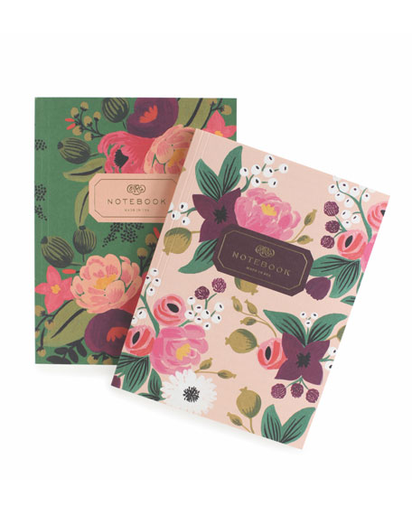 Rifle Paper Co Vintage Blossoms Notebooks, Set of