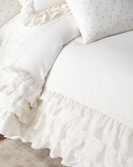 Rachel Ashwell Petticoat Full/Queen Duvet Cover