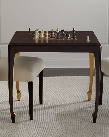 Walden Chess/Backgammon Game Table