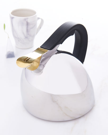 Chirp Sculptural Stainless Steel Kettle