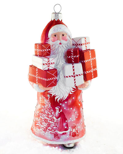 McDonnell Claus with Packages Ornament