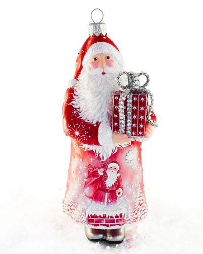 Presenting Claus Ornament