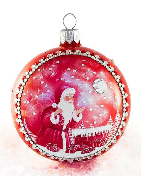 Patricia Breen Christmas Night Grande Orb Ornament