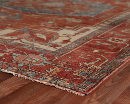 Drogo Hand-Knotted Rug, 9' x 12'