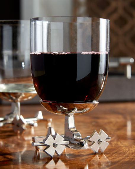Airplane Wine Glasses, Set of 2