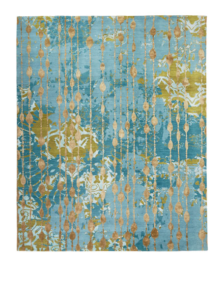 Butterfly Dream Hand-Knotted Rug, 9' x 12'
