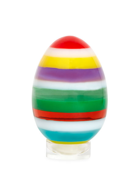 Jonathan Adler Medium Layers Egg, Multi and Matching