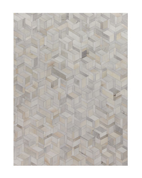Brielle Hairhide Hand-Stitched Rug, 11.6' x 14.6'