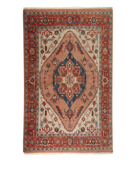 Destin Hand-Knotted Rug, 6' x 9'