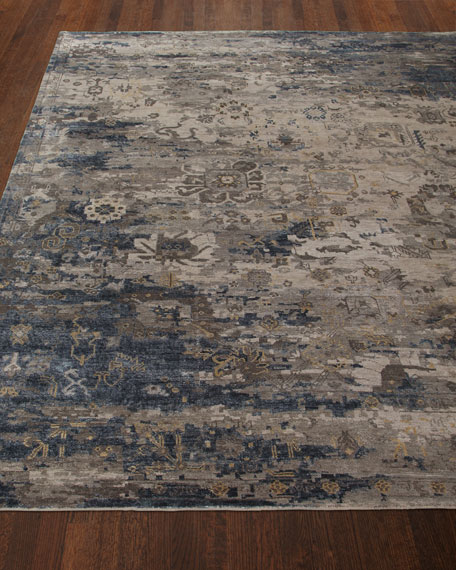 """Mayley Vintage Hand-Knotted Runner, 2'6"""" x 10'"""
