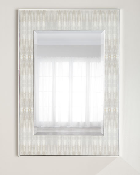 John-Richard Collection Dune Textile 3 Mirror