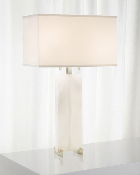 John-Richard Collection Alabaster Table Lamp