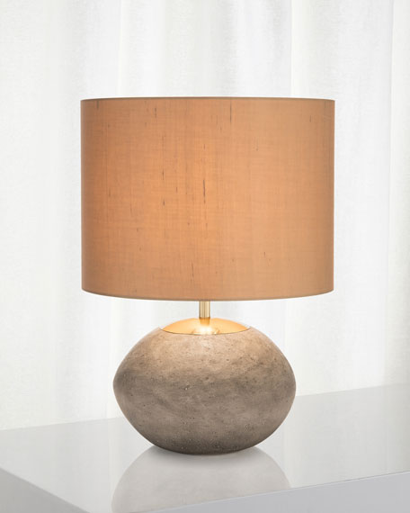 John-Richard Collection Concrete Accent Lamp