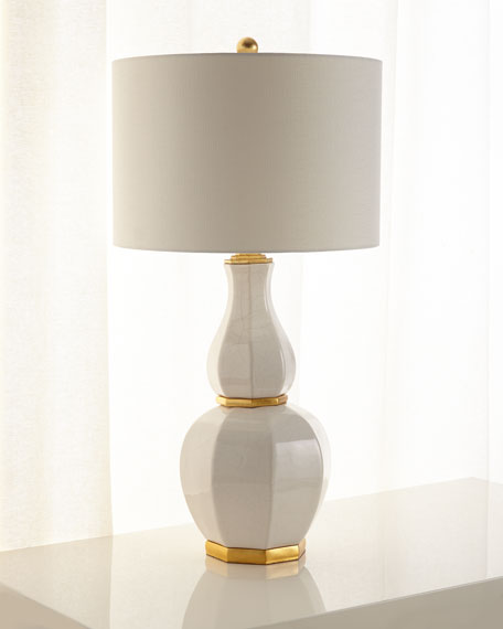 JohnRichard Collection Luminous Ginger Jar Table Lamp Neiman Marcus