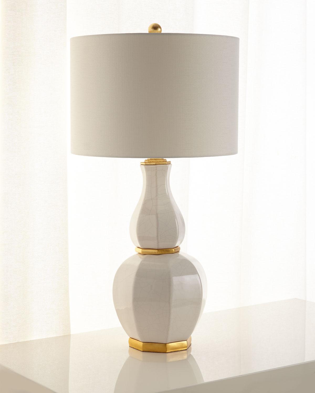 John Richard Collection Luminous Ginger Jar Table Lamp