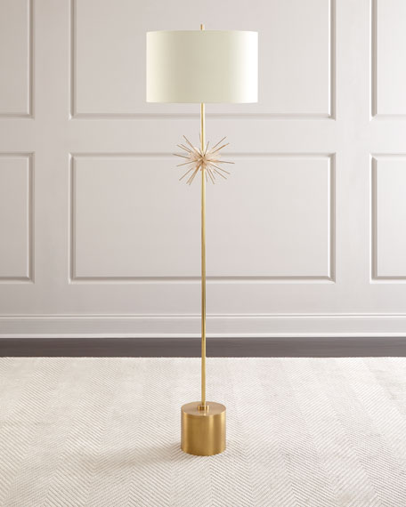 John-Richard Collection Quartz Starburst Floor Lamp