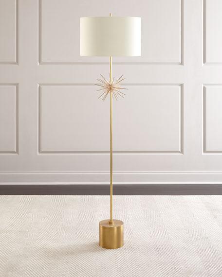 Quartz Starburst Floor Lamp
