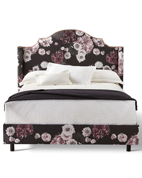 Carmen Floral Ice King Bed