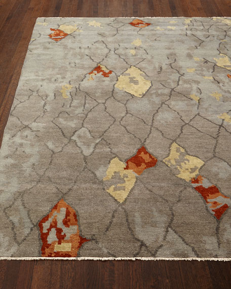 Abda Hand-Knotted Runner, 2'6