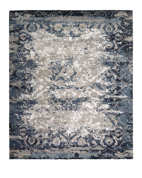 "Deep Horizon Hand-Knotted Runner, 2'6"" x 10'"