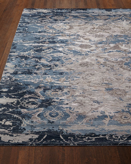 Deep Horizon Hand-Knotted Rug & Matching Items