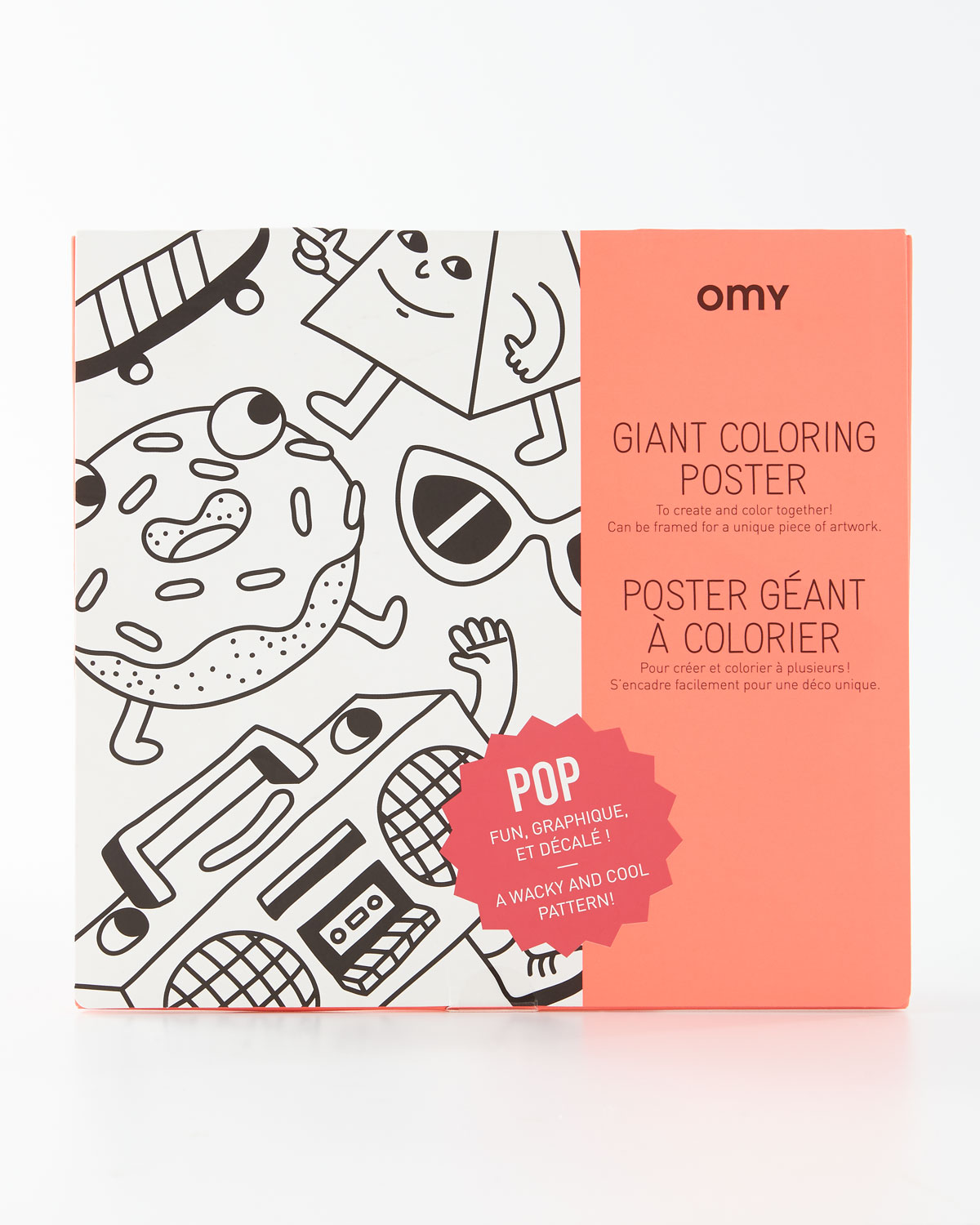 OMY POP Giant Coloring Poster | Neiman Marcus
