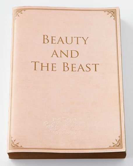 Slow Design Beauty and the Beast Notebook