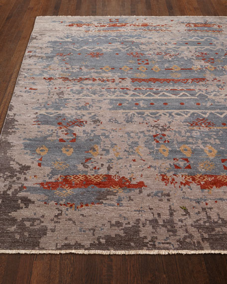 Daisa Clay Hand-Knotted Runner 2'6